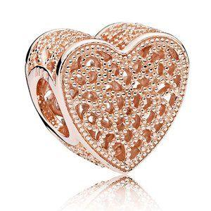 Pandora Rose Filled With Romance Charm